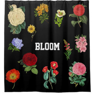 Cortina De Ducha Vintage floral