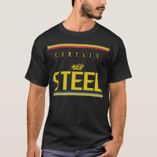 Cortina del acero: Camiseta (negra) de 5 anillos