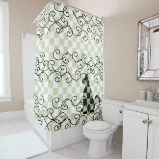 Cortinas de ducha de la decoración del cuarto de