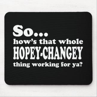 Cosa de Hopey-Changey Alfombrilla De Ratón