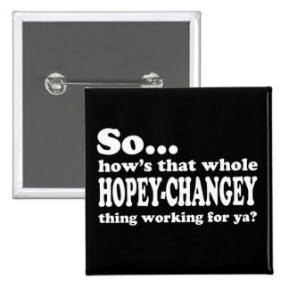 Cosa de Hopey-Changey Chapa Cuadrada
