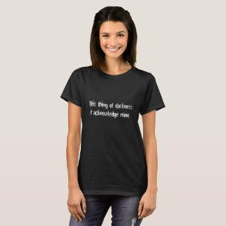 Cosa de la camisa divertida de Shakespeare del