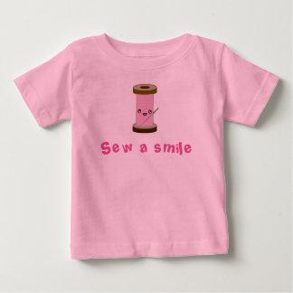 Cosa una sonrisa camiseta de bebé