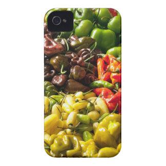 Cosecha de chiles funda para iPhone 4 de Case-Mate