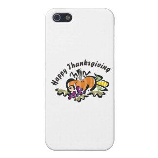 Cosecha de la acción de gracias iPhone 5 cárcasas