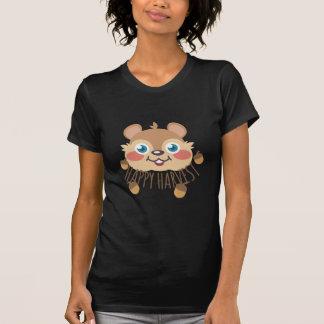 Cosecha feliz camiseta
