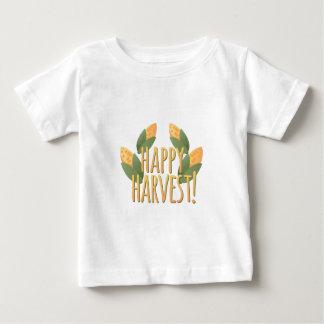 Cosecha feliz camiseta de bebé