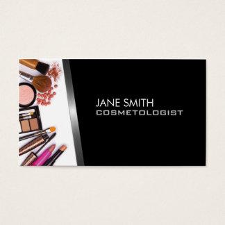Cosmetología del Cosmetologist del artista de Tarjeta De Negocios