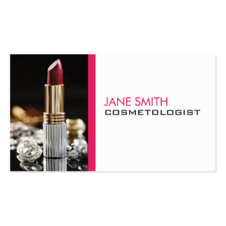 Cosmetología del Cosmetologist del artista de Tarjetas De Visita