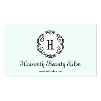 Cosmetología ligera linda del salón de belleza del tarjetas de visita