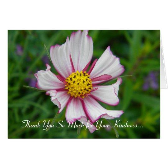 Cosmos magnífico tarjeta de felicitación