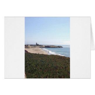Costa costa de NorCal Tarjeta De Felicitación