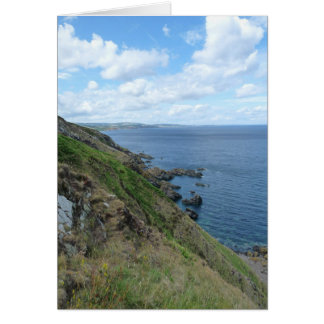 """Costa costa del este de Lothian de Escocia "" Tarjeta"