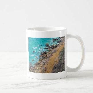 Costa costa Puerto López E del Océano Pacífico de Taza De Café