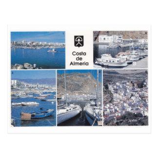 Costa de Almería - postal