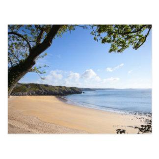 Costa de Pembrokeshire del Pembroke de la bahía de Postal