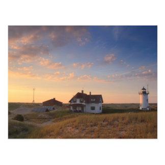 Costa del nacional de Cape Cod del faro del punto Postal
