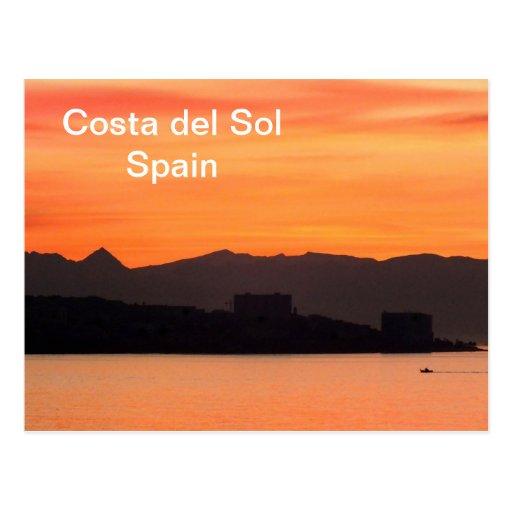 Costa del Sol, España Postales