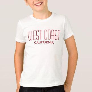 Costa oeste California Camiseta