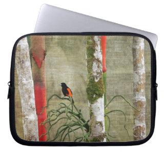 Costa Rica.jpg del pájaro y del bambú Funda Para Ordenador
