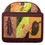 Costa Rica salvaje - arañas, cucarachas e insectos Funda Para Macbooks