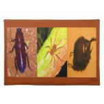 Costa Rica salvaje - arañas, cucarachas e insectos Manteles Individuales