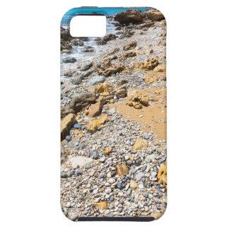 Costa rocosa Kefalonia Grecia del paisaje Funda Para iPhone SE/5/5s