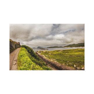"""""""Costee el camino, arte de la pared de Irlanda"""""""