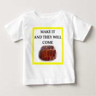 costillas camiseta de bebé