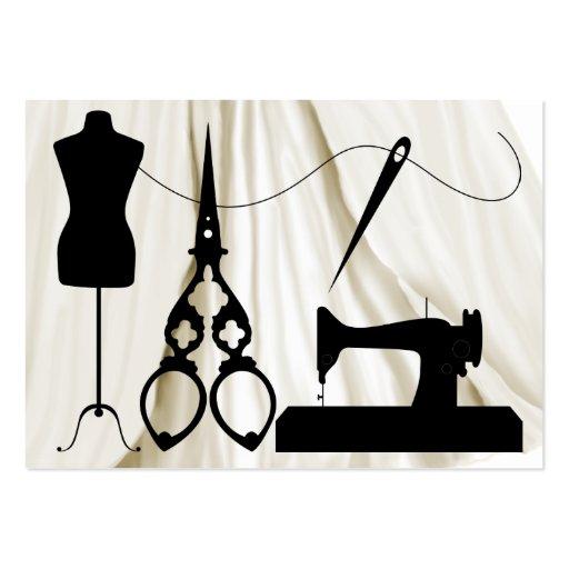 Costura/moda/costurera - SRF Tarjetas Personales