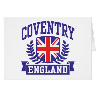 Coventry Inglaterra Tarjeta De Felicitación