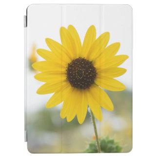 Cover De iPad Air Aire amarillo del iPad de la flor/cubierta
