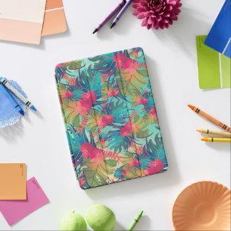 Cover De iPad Air Caja floral tropical del aire de la acuarela el  