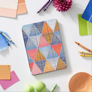 Cover De iPad Air Caja geométrica abstracta elegante del aire de