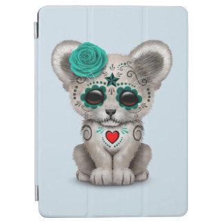 Cover De iPad Air Día azul del león Cub muerto