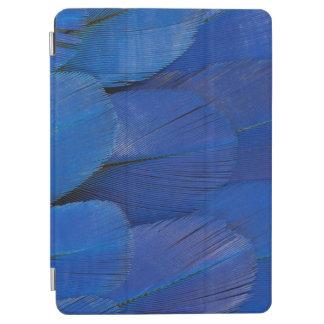 Cover De iPad Air Diseño azul de la pluma del Macaw del jacinto