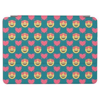 Cover De iPad Air Dulce lindo en el amor Emoji, modelo de los