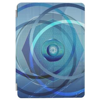 Cover De iPad Air Flor metálica - cubierta de aire del iPad/caso