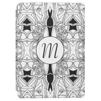 Cover De iPad Air Ilustraciones blancos y negros modernas con el