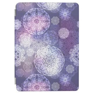 Cover De iPad Air Modelo de lujo floral de la mandala