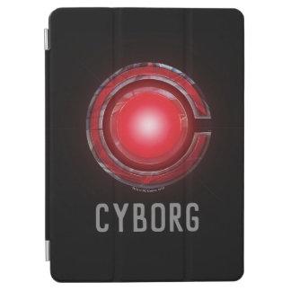 Cover De iPad Air Símbolo del Cyborg de la liga de justicia que