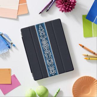 Cover De iPad Azul del modelo de Viking