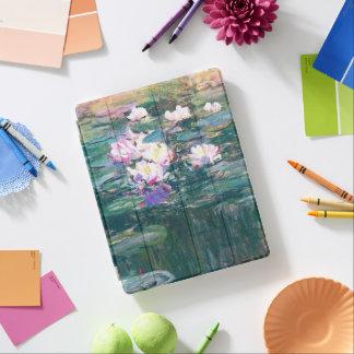 Cover De iPad Bella arte de Monet de la charca del lirio de agua