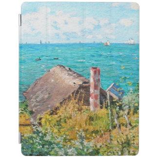 Cover De iPad Claude Monet la cabina en la bella arte del