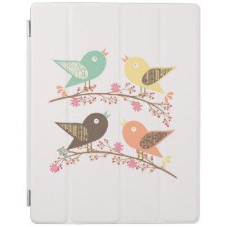 Cover De iPad Cuatro pájaros