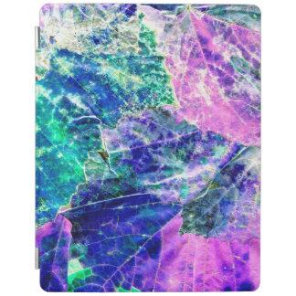 Cover De iPad Cubierta elegante coloreada del iPad de las hojas