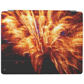 Cover De iPad Cubierta elegante del iPad del fuego artificial