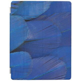 Cover De iPad Diseño azul de la pluma del Macaw del jacinto