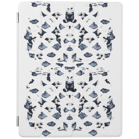 Cover De iPad El azul mancha la cubierta elegante del iPad