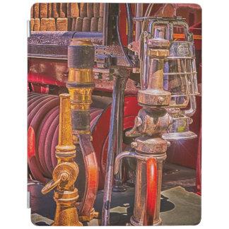 Cover De iPad En el Firetruck viejo